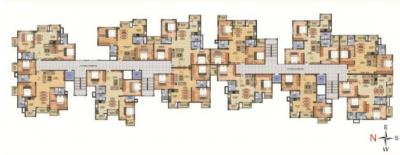 Gallery Cover Image of 1205 Sq.ft 2 BHK Apartment for buy in Vahe Imperial Gardens, Halasahalli for 5422500