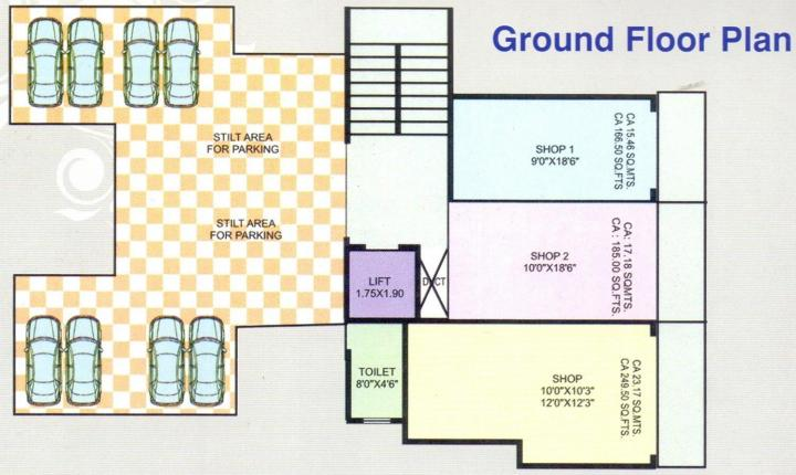 Project Image of 416.99 - 626.03 Sq.ft 1 BHK Apartment for buy in Annapurna Avenue