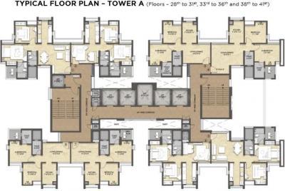 रेमंड टेंक्स हैबिटट में खरीदने के लिए 400.0 - 650.0 Sq.ft 1 BHK अपार्टमेंट प्रोजेक्ट  की तस्वीर