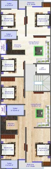 Project Image of 450.0 - 810.0 Sq.ft 2 BHK Builder Floor for buy in ARE Uttam Nagar Floors