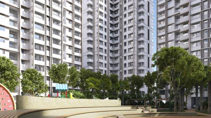 Project Image of 413.0 - 441.0 Sq.ft 1 BHK Apartment for buy in Raunak City Sector IV D6