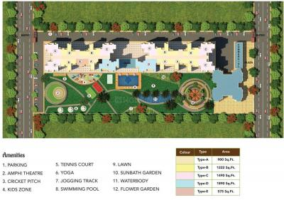Project Image of 575 - 1890 Sq.ft 1 BHK Apartment for buy in The Antriksh Valley