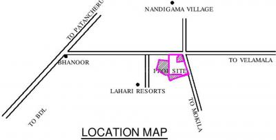 Project Image of 1647 - 7136 Sq.ft Residential Plot Plot for buy in SRR Gachibowli Paradise Phase III