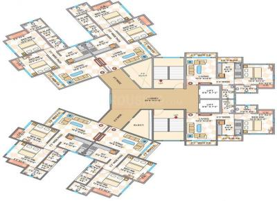 Gallery Cover Image of 670 Sq.ft 1 BHK Apartment for rent in Cosmos Cosmos Jewels, Thane West for 17000