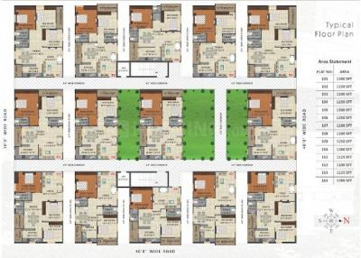 Project Image of 1100.0 - 1300.0 Sq.ft 2 BHK Apartment for buy in SGS Lifespaces Nandanavanam