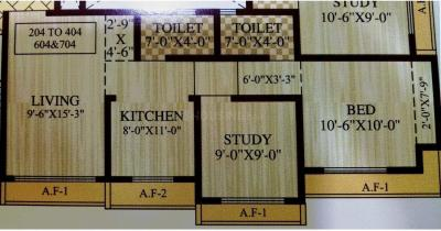 Project Image of 346 - 543 Sq.ft 1 BHK Apartment for buy in Shantee Sterling Heights A Wing