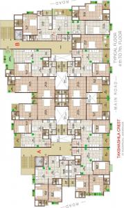 Project Image of 1530.0 - 3375.0 Sq.ft 2.5 BHK Apartment for buy in Takshashila Crest
