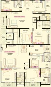 Project Image of 1900.0 - 1990.0 Sq.ft 3 BHK Apartment for buy in Lak Ven Bless