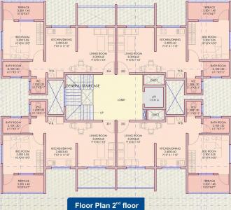 Project Image of 0 - 450.0 Sq.ft 1 BHK Apartment for buy in A And A Shriyog