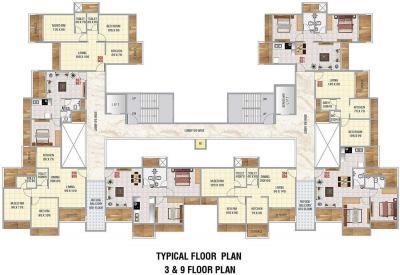 Gallery Cover Image of 1050 Sq.ft 2 BHK Apartment for buy in Sadguru Universal, Greater Khanda for 9064000