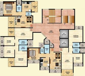 Project Image of 184.0 - 349.0 Sq.ft 1 BHK Apartment for buy in RSM Group Athena