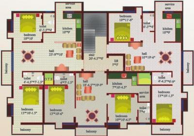 Gallery Cover Pic of Sree Homes Adora Appartment