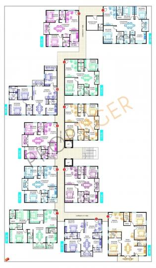 Project Image of 1350 Sq.ft 2 BHK Apartment for rentin Kadubeesanahalli for 35000