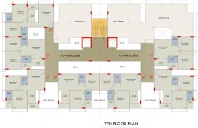 Project Image of 522.91 - 541.32 Sq.ft 2 BHK Apartment for buy in Kedaram Keshav Enclave 2