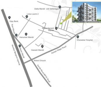 Project Image of 380 - 845 Sq.ft 1 BHK Apartment for buy in Prasiddhi Shruti Pushp