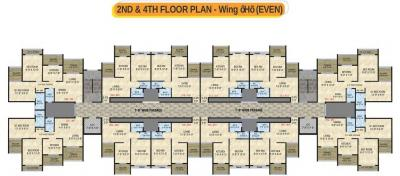 Project Image of 320.0 - 542.0 Sq.ft 1 BHK Apartment for buy in Arihant Anaika Phase II