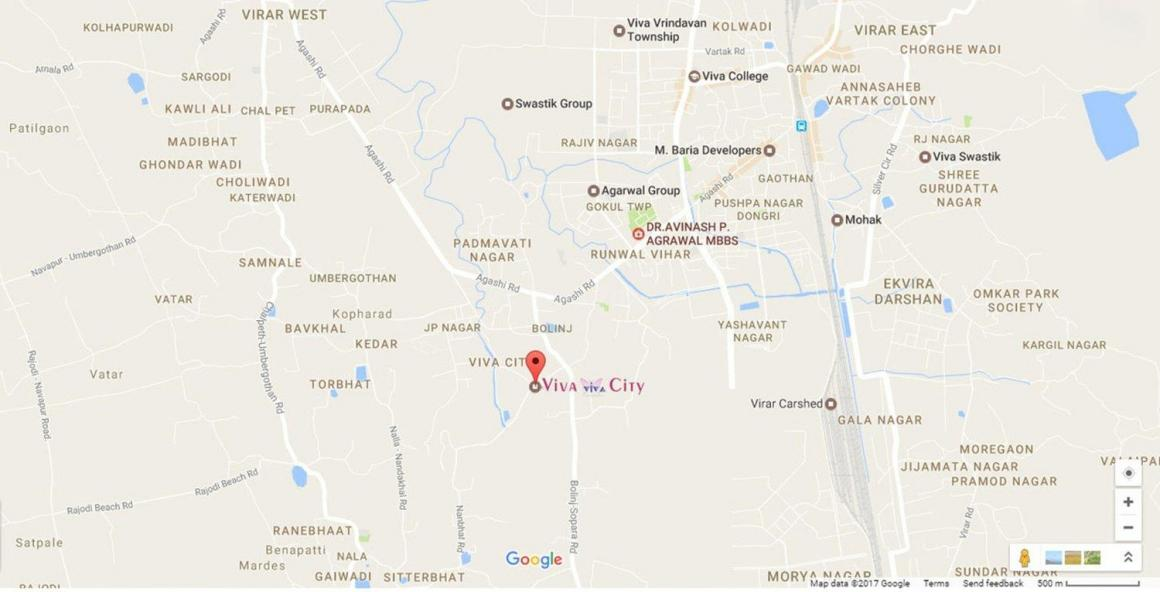 Project Image of 0 - 528.29 Sq.ft 2 BHK Apartment for buy in Viva City A10