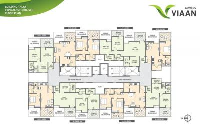 Project Image of 335.0 - 569.0 Sq.ft 1 BHK Apartment for buy in Mavens Viaan