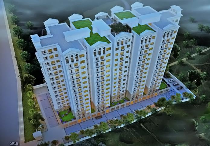Project Image of 1677.0 - 1759.0 Sq.ft 3 BHK Apartment for buy in DSR Lotus Towers
