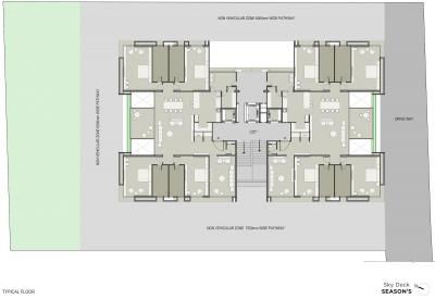 Project Image of 2780.96 - 4666.48 Sq.ft 4 BHK Apartment for buy in Saanvi Skydeck Seasons
