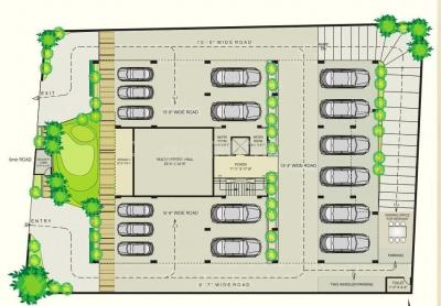 Project Image of 1710.0 - 1980.0 Sq.ft 3 BHK Apartment for buy in Merlin Ornate