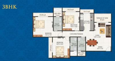 Project Image of 0 - 789.0 Sq.ft 2 BHK Apartment for buy in Proviso Builders Sai Proviso Aashlesha