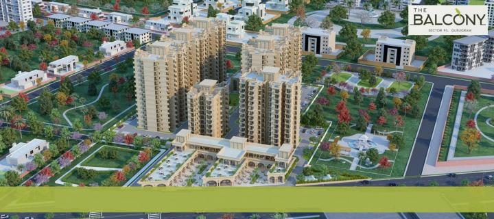 Project Image of 590.0 - 607.0 Sq.ft 2 BHK Apartment for buy in MRG The Balcony