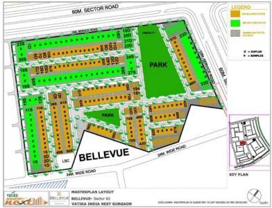 Project Image of 2160.0 - 3240.0 Sq.ft 3 BHK Villa for buy in Vatika Bellevue Residences
