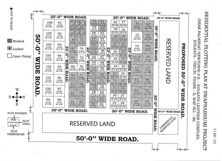 Project Image of 1440.0 - 3600.0 Sq.ft Residential Plot Plot for buy in Swapnabhumi