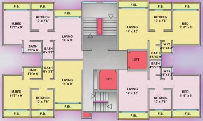 Project Image of 364.0 - 378.0 Sq.ft 1 BHK Apartment for buy in PIL Tower