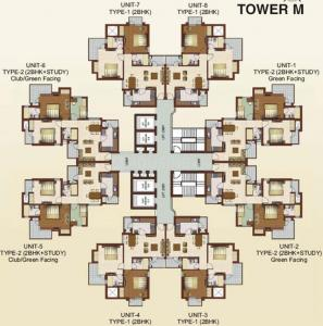Project Image of 1229.0 - 1882.0 Sq.ft 2.5 BHK Apartment for buy in RG Luxury Homes
