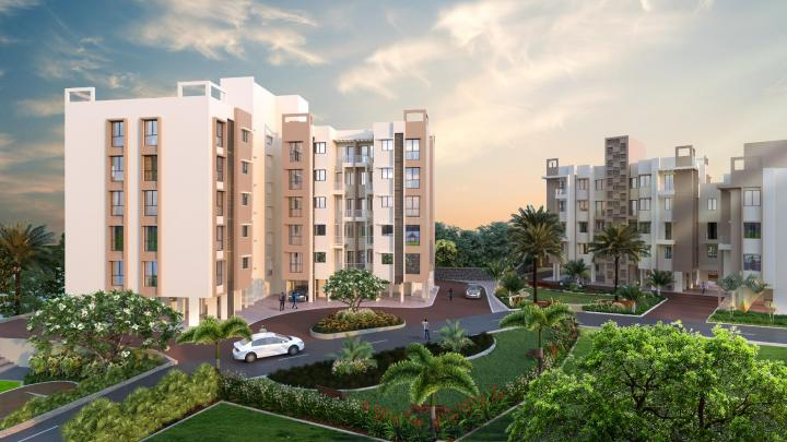 Project Image of 369.0 - 566.0 Sq.ft 1 BHK Apartment for buy in Belmac Riverside III A Bldg
