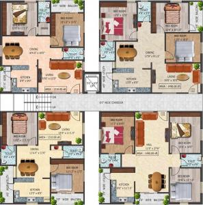 Project Image of 1210 - 1490 Sq.ft 2 BHK Apartment for buy in Infocity Excellence And Elegance