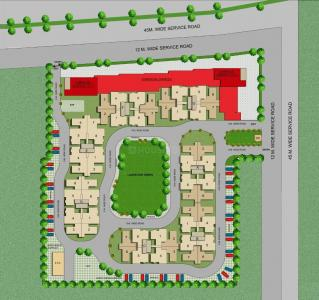 Project Image of 498.0 - 641.0 Sq.ft 2 BHK Apartment for buy in Terra Lavinium