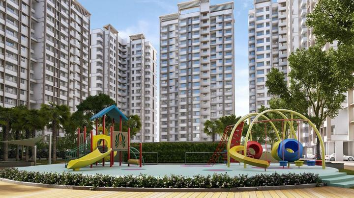 Project Image of 385.0 - 390.0 Sq.ft 1 BHK Apartment for buy in Raunak City Sector IV D4