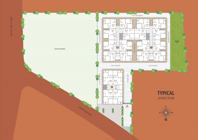 Project Image of 501.71 - 573.5 Sq.ft 2 BHK Apartment for buy in Shree Krishna Shreeji Residency