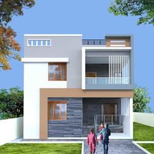 Gallery Cover Image of 850 Sq.ft 1 BHK Independent House for rent in Dolphin Independent House, Battarahalli for 4000