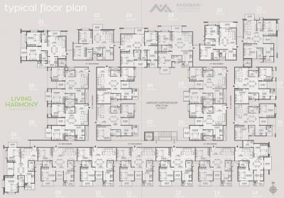 Project Image of 924 - 1036 Sq.ft 2 BHK Apartment for buy in Nagamani Living Harmony