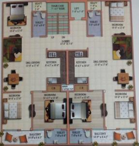 Project Image of 0 - 1250 Sq.ft 3 BHK Apartment for buy in Shree Balaji Homes