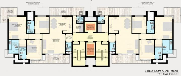 Project Image of 1575.0 - 4950.0 Sq.ft 2 BHK Apartment for buy in SS The Leaf