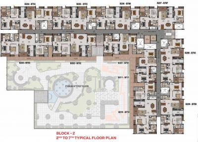 Project Image of 1051 Sq.ft 2 BHK Apartment for buyin Mogappair for 7800000
