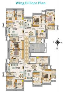 Project Image of 0 - 780 Sq.ft 2 BHK Apartment for buy in Geopreneur Mayur Tower B Wing