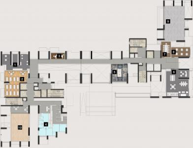Project Image of 2034.0 - 5300.0 Sq.ft 3 BHK Apartment for buy in DNR Highline