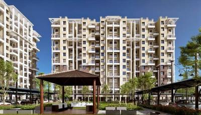 Gallery Cover Image of 1000 Sq.ft 2 BHK Apartment for rent in Nyati Elan West I, Wagholi for 14000