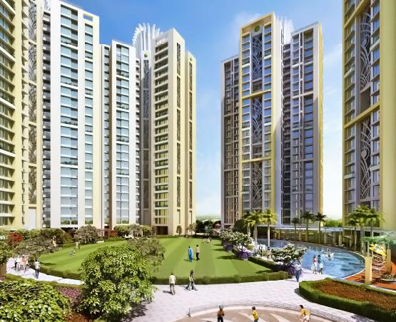 Project Image of 673.17 - 882.1 Sq.ft 2 BHK Apartment for buy in Nirmal Lifestyle City Kalyan Amazon B