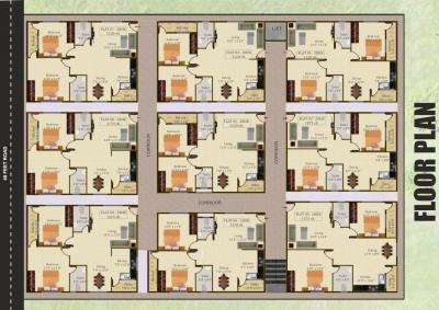 Project Image of 1075.0 - 1275.0 Sq.ft 2 BHK Apartment for buy in Landmark Fortune