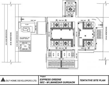 Project Image of 1960 Sq.ft 3 BHK Apartment for buyin Manesar for 6500000