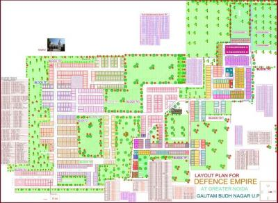 Project Image of 450.0 - 1800.0 Sq.ft Residential Plot Plot for buy in Blueplanet Defence Empire