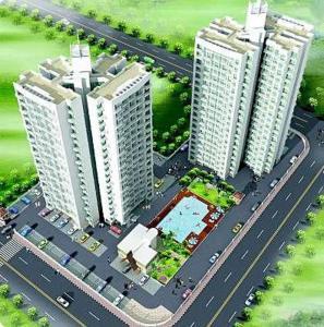 Gallery Cover Image of 1500 Sq.ft 3 BHK Apartment for rent in Regency Ashoka Residency, Kharghar for 32000