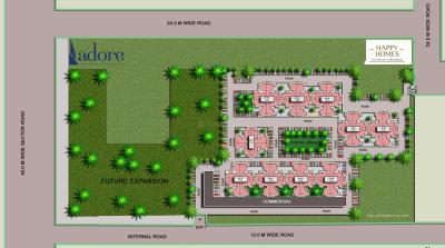 Gallery Cover Image of 700 Sq.ft 2 BHK Apartment for rent in Adore Happy Homes, Sector 85 for 9000